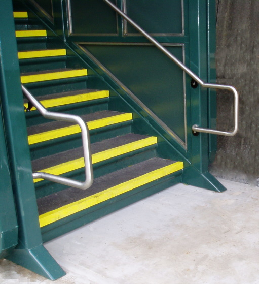 Hand Rails with Required Rail