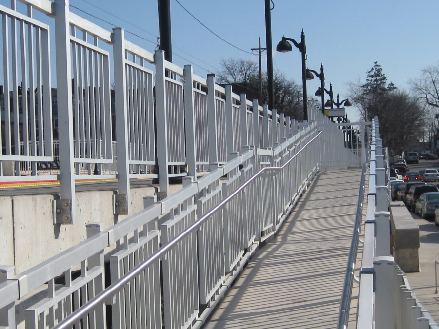 Railings for the LIRR